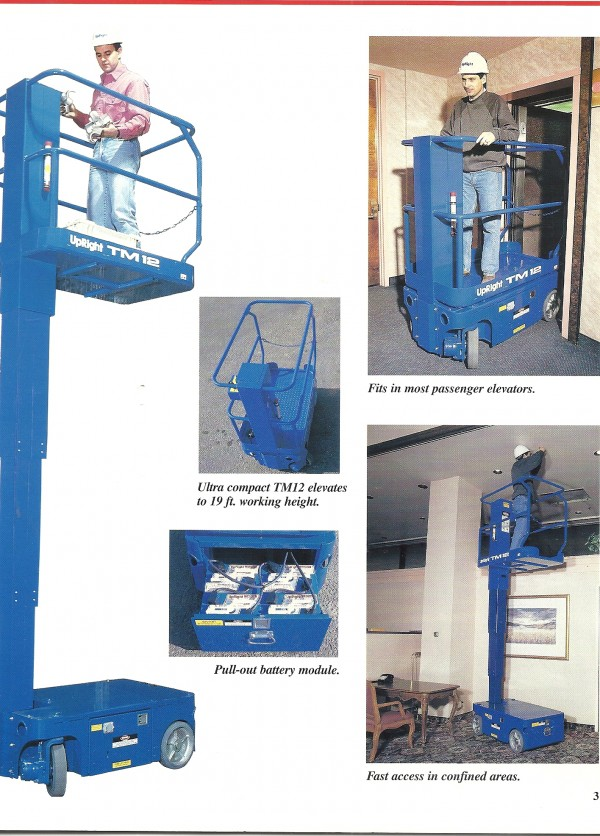 Lift 1 Person 12 Ft Electric Interstate Equipment